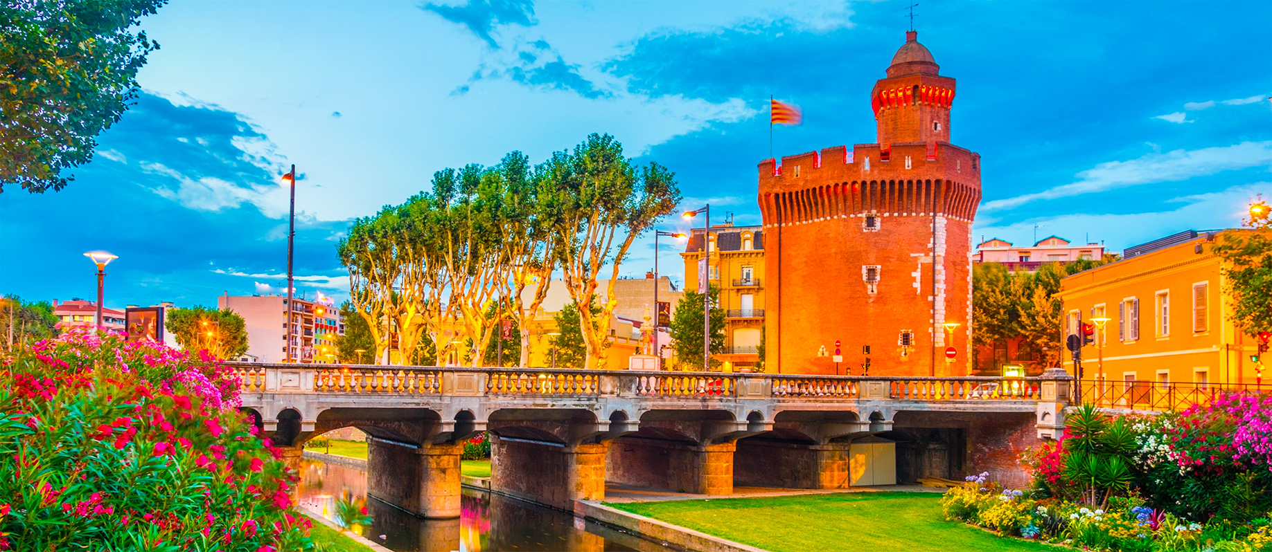 Palais des rois de Majorque - Perpignan